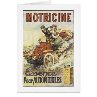 Motricine Greeting Card