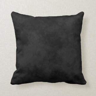 ~ Mottled Black Cushion
