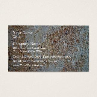 Mottled brick texture business card