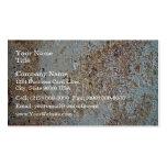 Mottled brick texture business card template