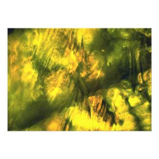 Mottled greenish yellow announcement