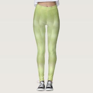 Mottled In Green Leggings