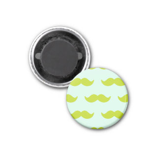MoU TAC moustaches! Refrigerator Magnets