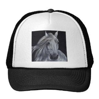 Mould portrait on black velvet trucker hat