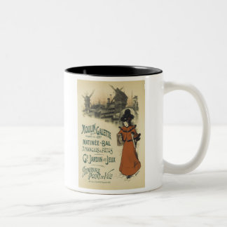 Moulin de la Galette, Roedel Two-Tone Coffee Mug