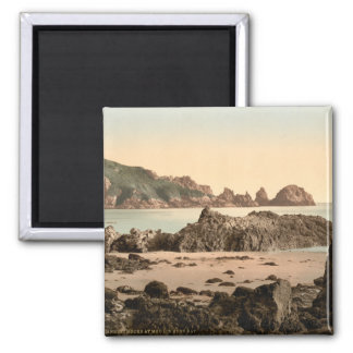 Moulin Huet Bay I, Guernsey, Channel Islands Magnet