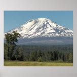 Mount Adams Landscape Photo Poster