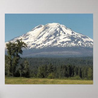 Mount Adams Landscape Poster
