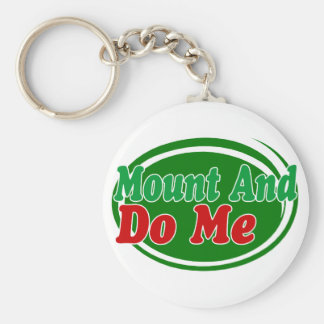 Mount And Do Basic Round Button Key Ring