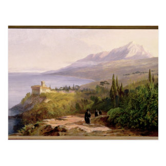 Mount Athos and the Monastery of Stavroniketes, 18 Postcard