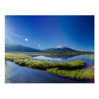 Mount Bachelor Lens Flare Postcard