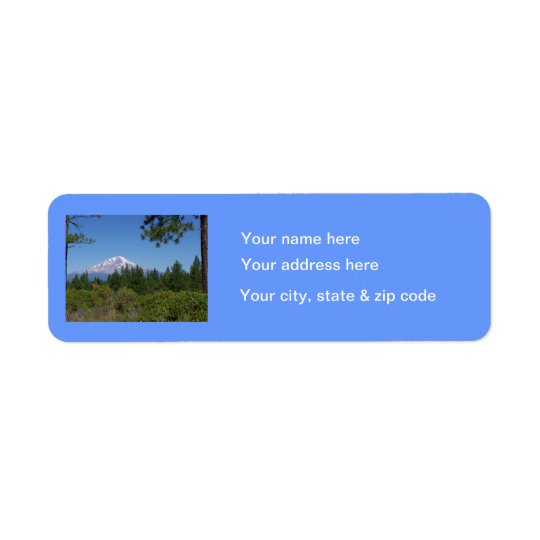 Mount Baker Return Label