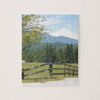 Mount Baker View Puzzles