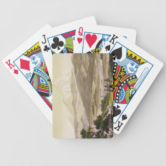 Mount Cayambe, Ecuador, from 'Le Costume Ancien et Bicycle Playing Cards