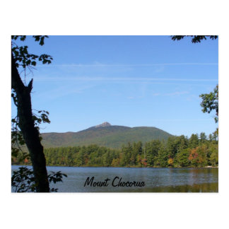 Mount Chocorua & Chocorua Lake, New Hampshire Postcard