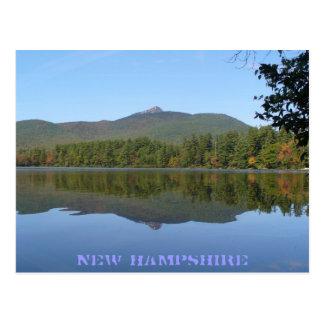 Mount Chocorus & Lake Chocorua, New Hampshire Postcard