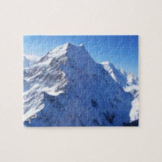 Mount Cook (Aoraki) Peak, New Zealand Jigsaw Puzzle