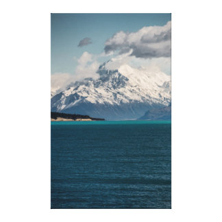 Mount Cook Portrait Canvas Print
