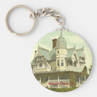 Mount Dora, FL - 1907 Basic Round Button Key Ring