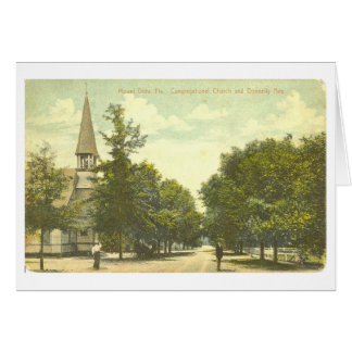 Mount Dora, FL - Church on Donnelly Ave. - 1907 Card