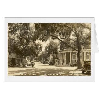 MOUNT DORA, FLORIDA - 1947 CARD