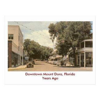 Mount Dora, Florida- Years Ago Postcard