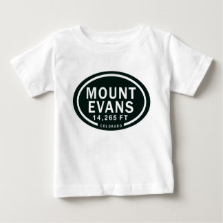 Mount Evans 14,265 FT Colorado Rocky Mountain Baby T-Shirt
