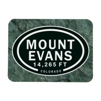 Mount Evans 14,265 FT Colorado Rocky Mountain Magnet