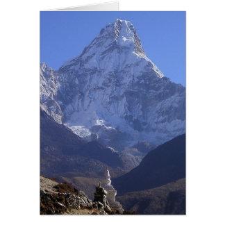 Mount Everest 4 Card