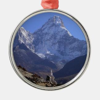 Mount Everest 4 Metal Ornament