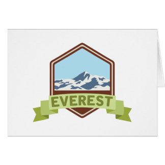 Mount Everest Card
