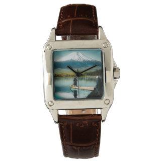 Mount Fuji from Lake Yamanaka 富士 Vintage Watch