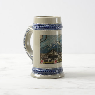 Mount Fuji Japan Beer Stein Mug