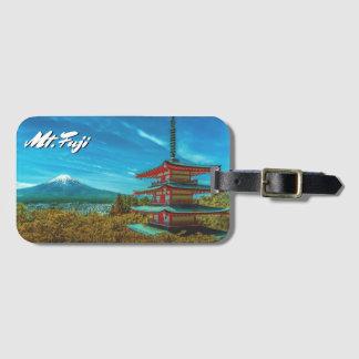 Mount Fuji, Japan Luggage Tag