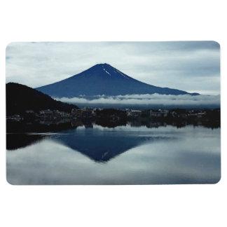 Mount Fuji San Floor Mat