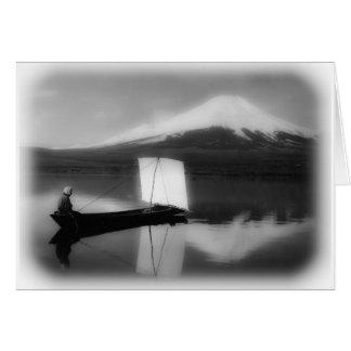 Mount Fuji San Greeting Card