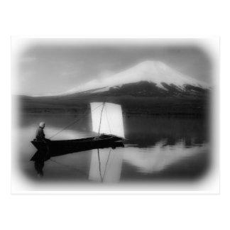 Mount Fuji San Postcard