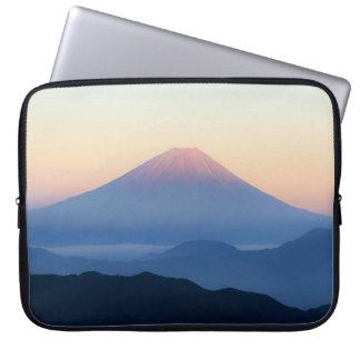 Mount Fuji Silhouettes Computer Sleeve