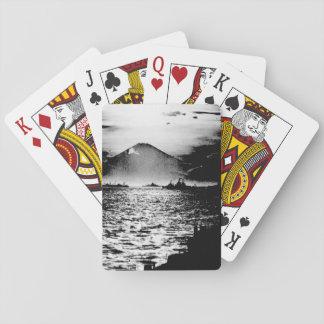 Mount Fujiyama, Japan as seen_War Image Playing Cards