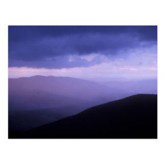 Mount Greylock Evening Storm Berkshires Postcard