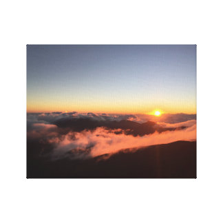 Mount Haleakala Canvas Print
