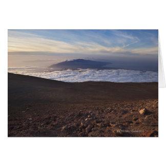 Mount Haleakala, Haleakala National Park, Maui, Card