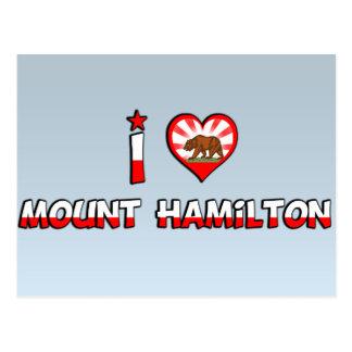 Mount Hamilton, CA Postcard