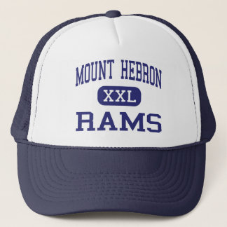 Mount Hebron Rams Middle Upper Montclair Trucker Hat