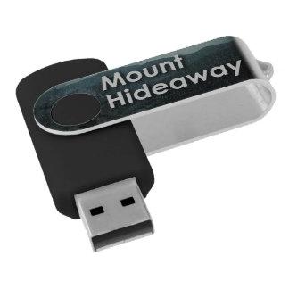 Mount Hideaway USB Flash Drive Swivel USB 2.0 Flash Drive