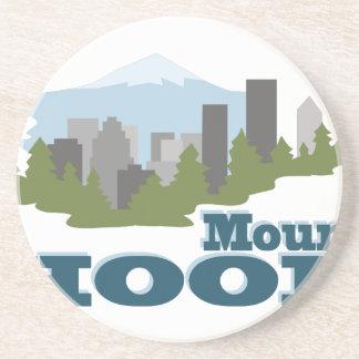 Mount Hood Beverage Coaster