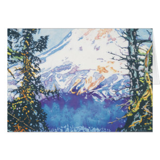 Mount Hood from Lookout Mountain Card