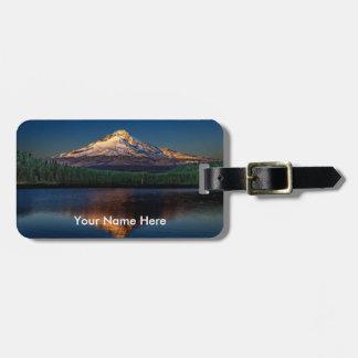 Mount Hood Luggage Tag
