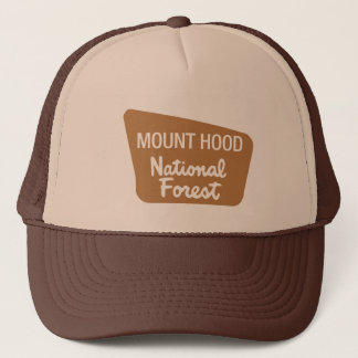 Mount Hood National Forest (Sign) Trucker Hat