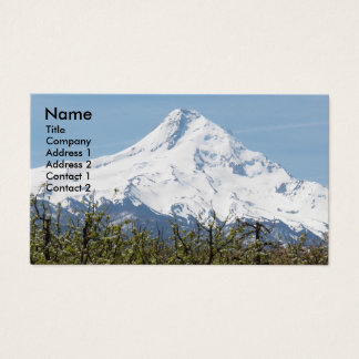 Mount Hood Orchards Photo Business Card